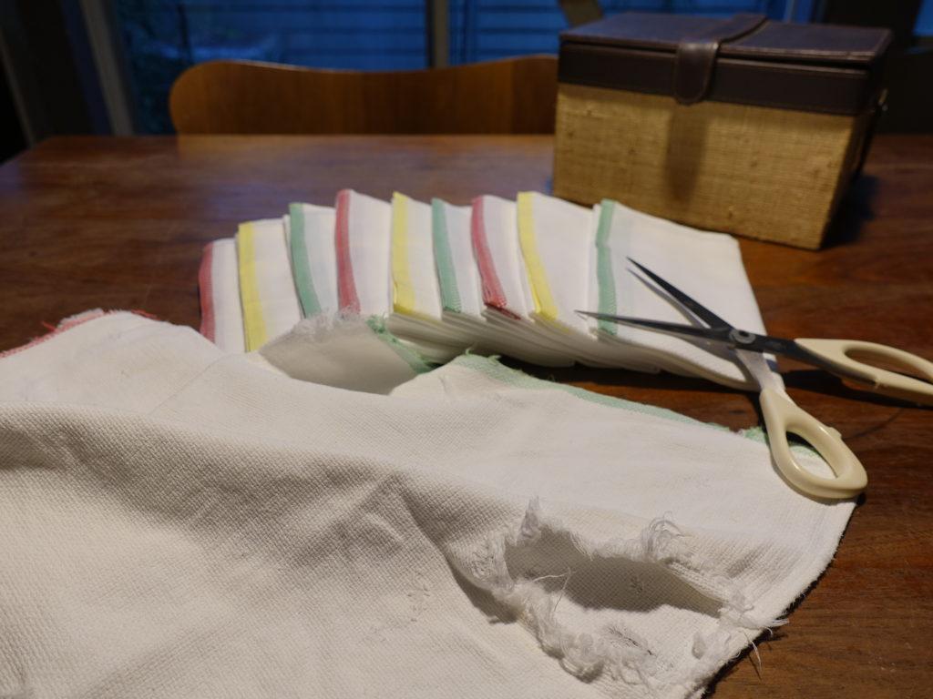 食器用の布巾は、日東紡の「新しいふきん」